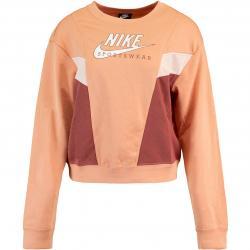 Nike Heritage Fleece Damen Sweatshirt apricot