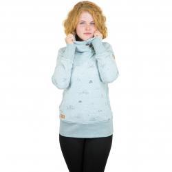 Ragwear Damen Sweatshirt Angel dusty blau