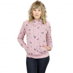 Ragwear Damen Sweatshirt Angel old pink