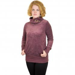 Ragwear Damen Sweatshirt Angel Velvet dark choco