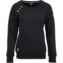 Ragwear Damen Sweatshirt Daria schwarz