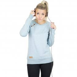 Ragwear Damen Sweatshirt Daria Dots dusty blue