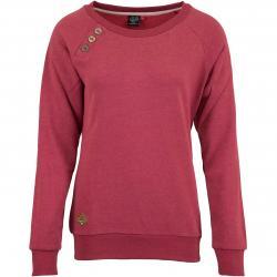 Ragwear Damen Sweatshirt Daria rot