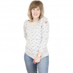 Ragwear Damen Sweatshirt Tashi beige