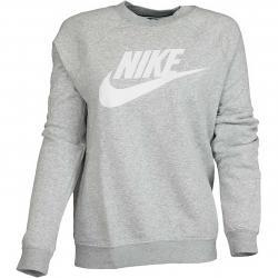 Nike Damen Sweatshirt Rally HBR grau/weiß