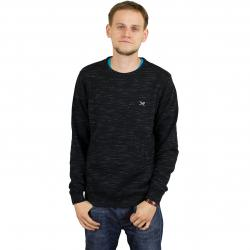 Iriedaily Sweatshirt Injection schwarz meliert