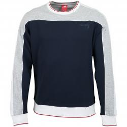 New Balance Sweatshirt Athletics Select grau/dunkelblau