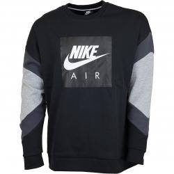 Nike Sweatshirt Air Fleece schwarz/anthrazit