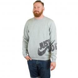 Nike Sweatshirt GX Fleece grau/schwarz