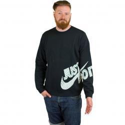 Nike Sweatshirt GX Fleece schwarz/weiß