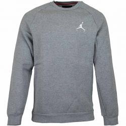 Nike Sweatshirt Jordan Jumpman Fleece grau/weiß