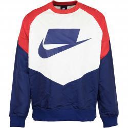 Nike Sweatshirt NSP Woven blau/rot