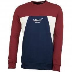 Reell Sweatshirt Color Block rot/dunkelblau