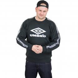 Umbro Sweatshirt Taped schwarz
