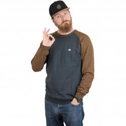Volcom Sweatshirt Homak grau/braun