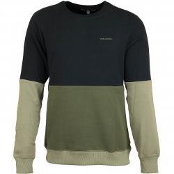 Volcom Sweatshirt Single Stone Division Crew oliv/schwarz