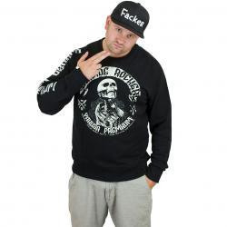 Yakuza Premium Sweatshirt 2328 B schwarz