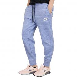 Nike Damen Sweatpants Advance 15 blau/weiß
