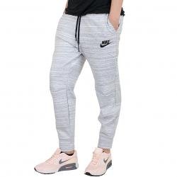 Nike Damen Sweatpants Advance 15 weiß/schwarz