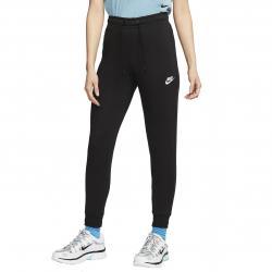 Nike Essential Fleece DamenTight schwarz/weiß