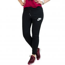 Nike Damen Sweatpants Rally Tight schwarz/weiß