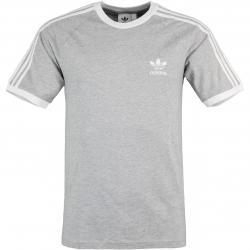 Adidas 3 Stripes T-Shirt grau