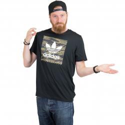 Adidas Originals T-Shirt Camo BB schwarz/camouflage