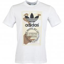 Adidas Originals T-Shirt Camo weiß/camouflage