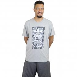 Adidas Originals T-Shirt Camo Label grau