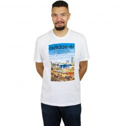 Adidas Originals T-Shirt Spree Vollgas weiß
