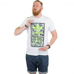 Adidas Originals T-Shirt Tongue Label 1 weiß