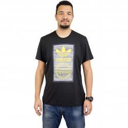 Adidas Originals T-Shirt Traction Tongue schwarz