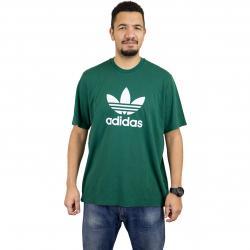 Adidas Originals T-Shirt Trefoil grün