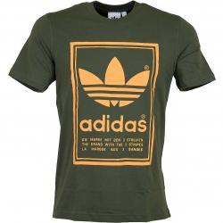 Adidas Originals T-Shirt Vintage oliv