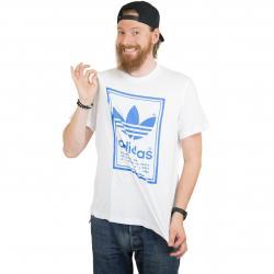 Adidas Originals T-Shirt Vintage weiß/blau