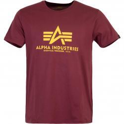 Alpha Industries BAsic T-Shirt burgundy