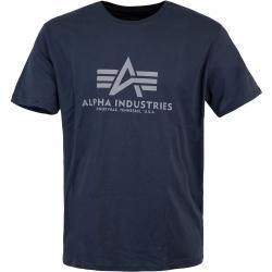 Alpha Industries BAsic T-Shirt blau