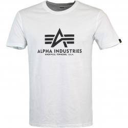 Alpha Industries Basic T-Shirt weiß