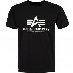 Alpha Industries Kryptonite Herren T-Shirt schwarz