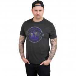 Amplified T-Shirt Deep Purple Smoke on the dunkelgrau