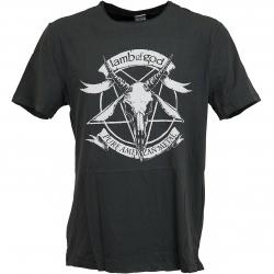 T-Shirt Amplified Lamb of God Pure American Metal dunkelgrau