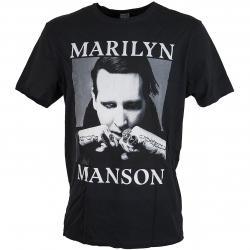 Amplified T-Shirt Marilyn Manson Fists schwarz