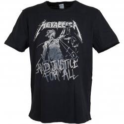 Amplified T-Shirt Metallica and Justice schwarz