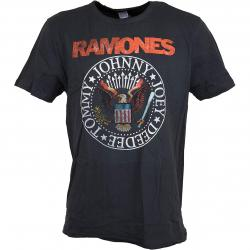 Amplified T-Shirt Ramones Vintage Seal dunkelgrau