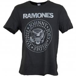Amplified T-Shirt Ramones Classic Seal dunkelgrau