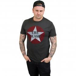 Amplified T-Shirt The Clash Star Logo dunkelgrau