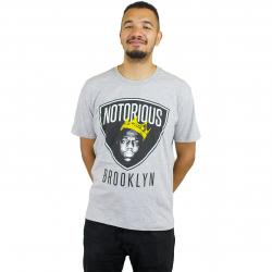 Amplified T-Shirt Biggi Notorious Brooklyn grau