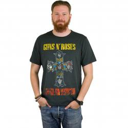 Amplified T-Shirt Guns`n`Roses Appetite for Des dunkelgrau