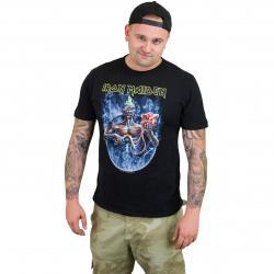 Amplified T-Shirt Iron Maiden Seventh schwarz