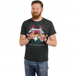 Amplified T-Shirt Metallica M.o.P. dunkelgrau